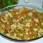 Sebzeli Tavuk Tarifi