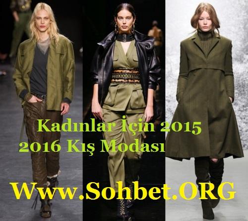 Kadınlar İçin 2015 – 2016 Kış Modası