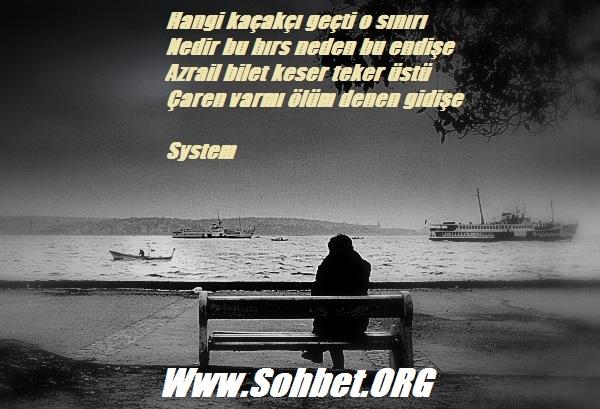 ölüm şiiri Sohbet Chat Sohbet